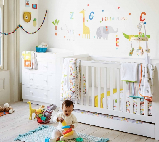 Add Wow Factor To Your Babyu0027s Nursery Room With These Clever Design Tips  And Tricks.