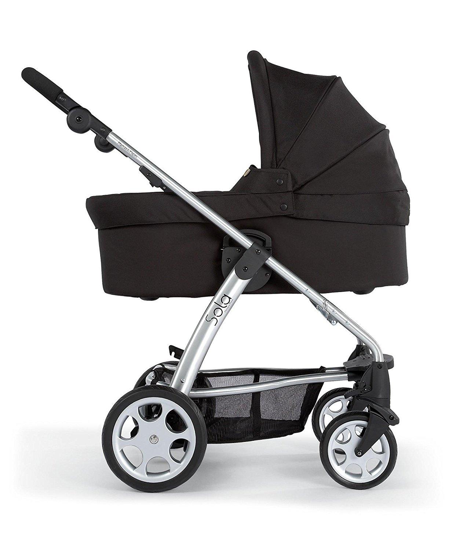 Mamas Amp Papas Sola Glide Carrycot Black Rascal Babies